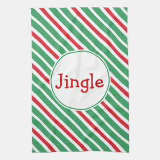 Jingle Holiday Kitchen Towel