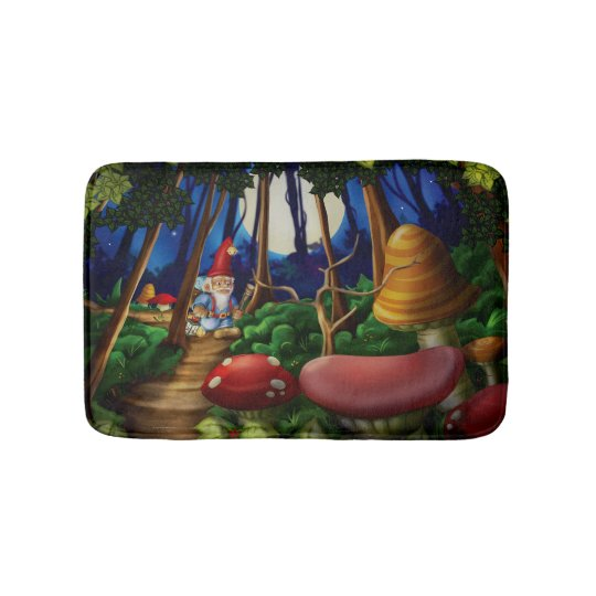 Jingle Jingle Little Gnome Bath Mat