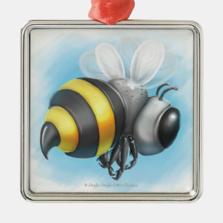 Jingle Jingle Little Gnome Bumble Bee Ornament