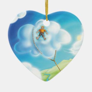 Jingle Jingle Little Gnome Cloud Nap Ornament