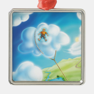 Jingle Jingle Little Gnome Cloud Nap Ornament