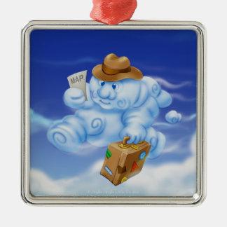 Jingle Jingle Little Gnome Cloud Ornament
