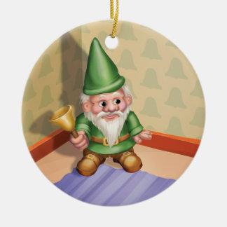 Jingle Jingle Little Gnome Ding-a-Ling Ornament