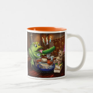 Jingle Jingle Little Gnome Frog and Mouse Mug