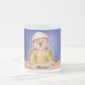 Jingle Jingle Little Gnome Frosted Spaghetti Mug