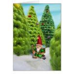 Jingle Jingle Little Gnome Holiday Trek Card