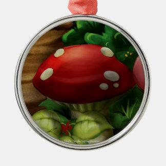 Jingle Jingle Little Gnome Mushroom Ornament