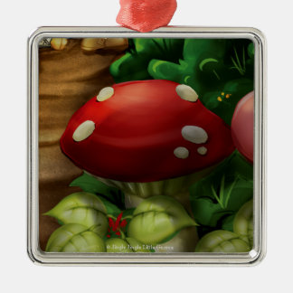 Jingle Jingle Little Gnome Mushroom Ornament