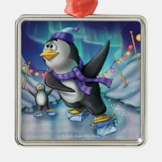 Jingle Jingle Little Gnome Party Penguin Ornament