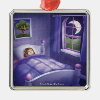 Jingle Jingle Little Gnome Peaceful Sleep Ornament