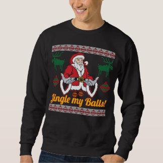 Jingle My Balls Santa Claus Ugly Christmas Sweater