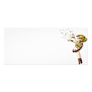 Jingle Star Customized Rack Card