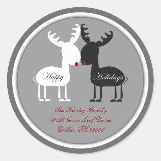 Jingles Christmas Address Label