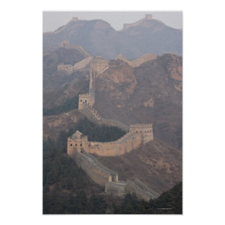 Jinshanling section, Great Wall of China Poster