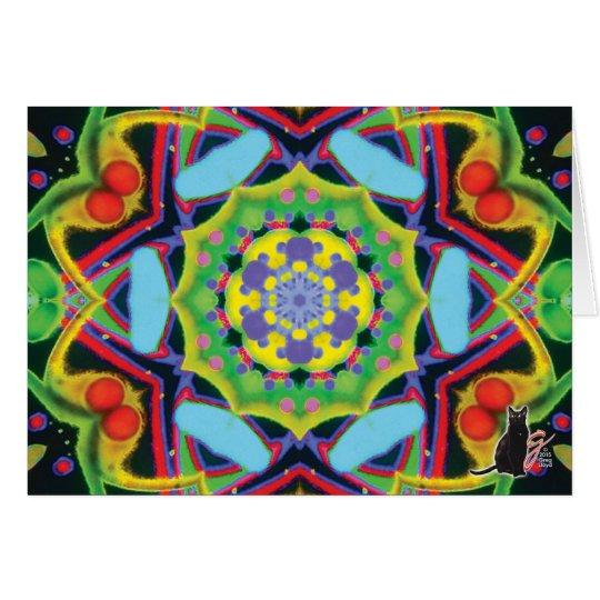 Jinx Kaleidoscope Greeting Card
