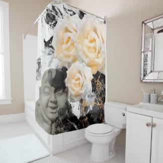 Jitaku Smell The Yellow Roses Shower Curtain