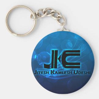 Jitesh Logo copy, Jitesh Logo copy Basic Round Button Key Ring
