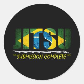 Jitsu - BJJ Submission Complete Sticker