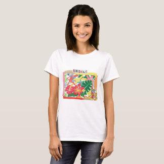 """jitsupo your """"hibiscus"""" T-Shirt"""