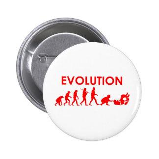 Jiu Jitsu Evolution Pinback Buttons