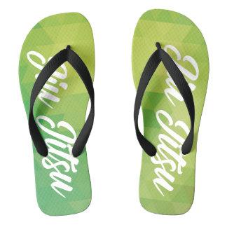 Jiu Jitsu Flip Flop - Green