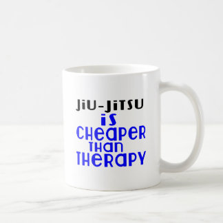 Jiu-Jitsu Is Cheaper  Than Therapy Coffee Mug