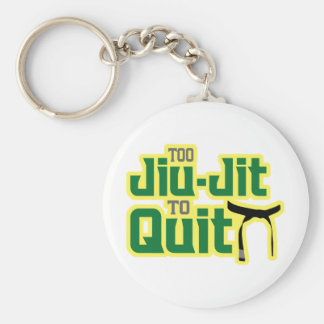 Jiu-Jitsu Key Ring