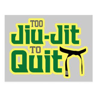 Jiu-Jitsu Postcard