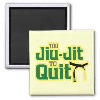 Jiu-Jitsu Square Magnet