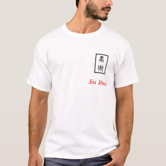 Jiu Jitsu t-shirt - large design on back