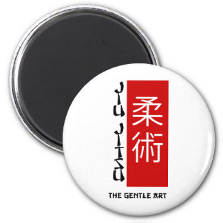 Jiu Jitsu - The Gentle Art 6 Cm Round Magnet