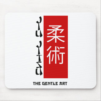 Jiu Jitsu - The Gentle Art Mouse Mat