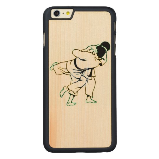 Jiu Jitsu Wooden iPhone 6/6S Case