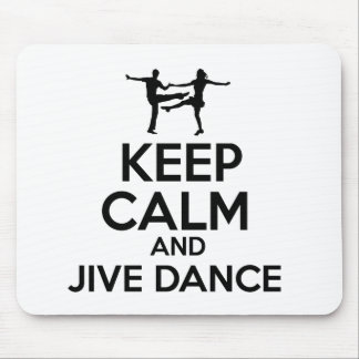jive design mouse pad
