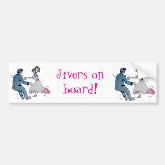 Jive Fun! swing dancing rock and roll Bumper Sticker
