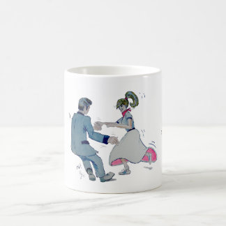 Jive Fun! swing dancing rock and roll Coffee Mug