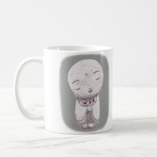 Jizo Mug Japanese Little Buddha Spiritual Mug