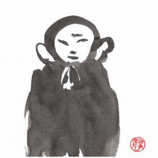 Jizo the Monk Photo Sculpture