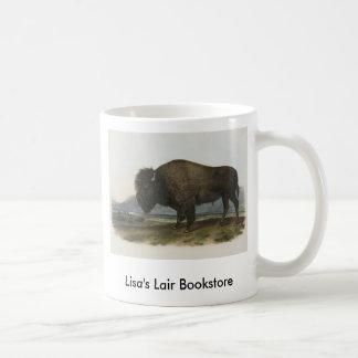 JJ Audubon - American Bison Bookstore Promo Basic White Mug