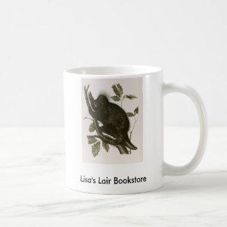 JJ Audubon - Canada Porcupine Bookstore Promo Basic White Mug