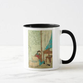 JJ Audubon  on a trip to Japan disovers a rat Mug