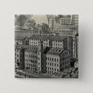 JJ Regan Factory 15 Cm Square Badge