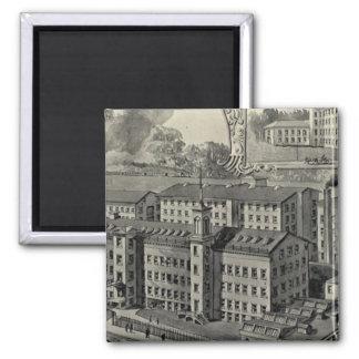 JJ Regan Factory Square Magnet