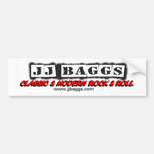 jjbaggs1 bumper sticker