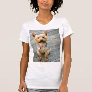 "jjhelene Yorkshire Terrier ""Nina"" Jersey T-Shirt"