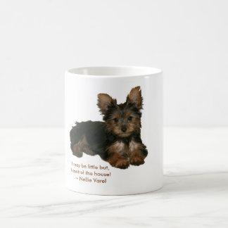 """jjhelene Yorkshire Terrier """"Nina"""" Mug"""