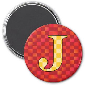 JJJ 7.5 CM ROUND MAGNET