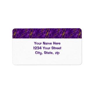 JjParade Amazing Grape Address Label