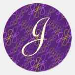 JjParade Amazing Grape Round Sticker