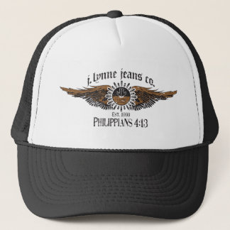 JLA Jeans Hat w/Winged Logo